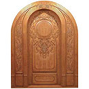 Custom Carved Doors